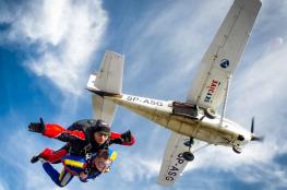 Wrocław Atrakcja Skok ze spadochronem Xjumpers
