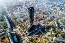 Wrocław Atrakcja Punkt widokowy Skytower