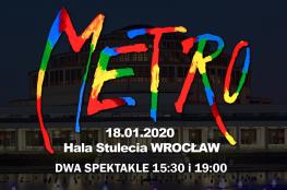 Wrocław Wydarzenie Widowisko Musical Metro