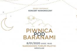 Wrocław Wydarzenie Koncert Koncert Noworoczny Piwnicy Pod Baranami