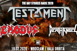 Wrocław Wydarzenie Koncert Testament + Exodus, Death Angel