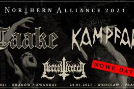 Wrocław Wydarzenie Koncert Taake, Kampfar + Necrowretch