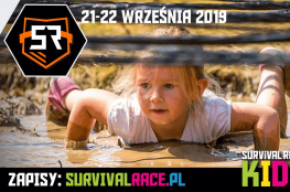 Wrocław Wydarzenie Bieg Wytarzam dziecko w błocie na Survival Race KIDS!