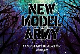 Wrocław Wydarzenie Koncert New Model Army: 17.10.2019 Wrocław, Stary Klasztor